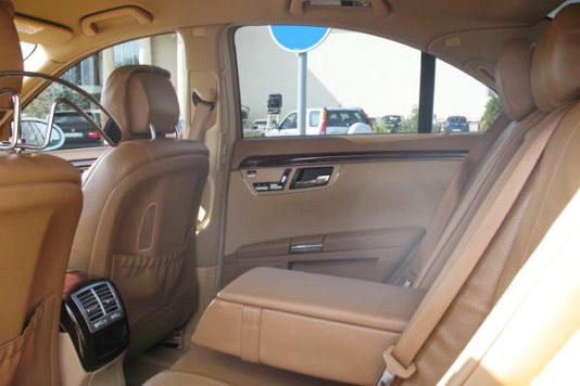 Mercedes W220 S550L white