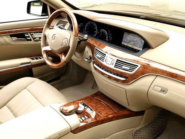 Mercedes W221 S550 белый прокат на свадьбу