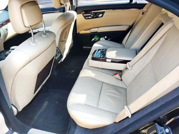 Mercedes-Benz W221 S500 black аренда на свадьбу в киеве