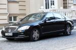 Mercedes W221 S600L black прокат авто