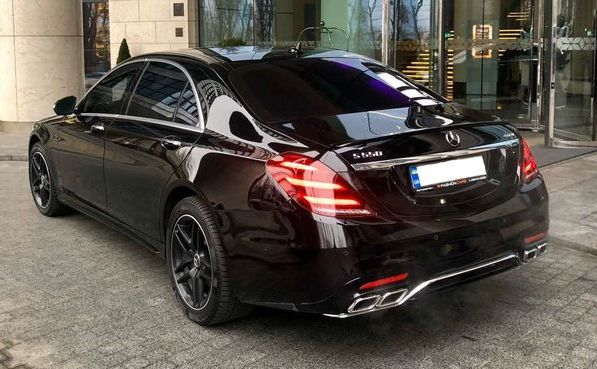 Vip Mercedes-Benz S550 AMG 4MATIC W222 Restyling на свадьбу