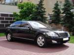 Mercedes W221 S550L black прокат авто