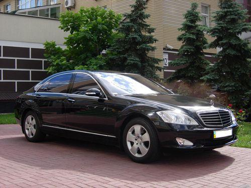 Mercedes W221S 550L