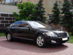 Vip-авто Mercedes W221 S550L black аренда Киев цена