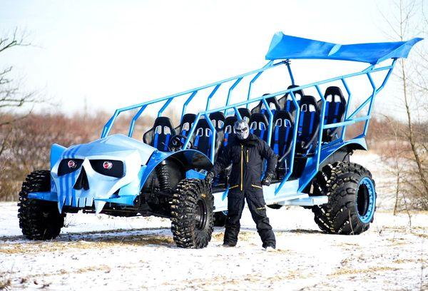 Party Bus Monster Buggy аренда пати баса на детский день рождения