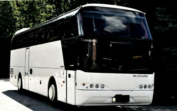 Neoplan 116 белый заказать автобус в киеве
