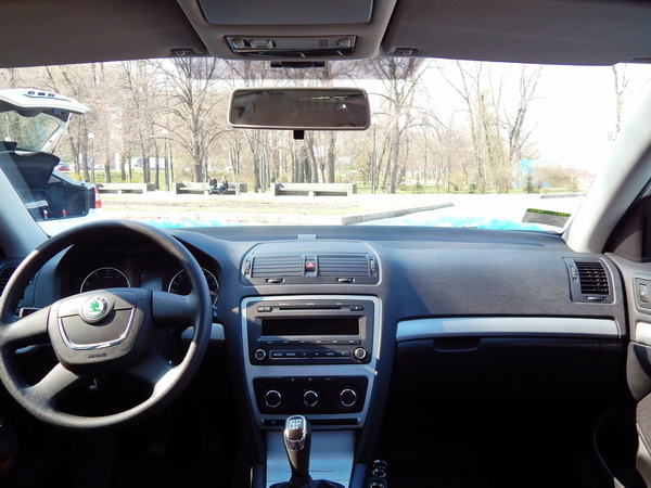 Skoda Octavia A5 прокат аренда киев