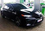 Toyota Camry V70 черная 2018 аренда авто