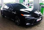 Toyota Camry V70 черная 2018 аренда авто код 149