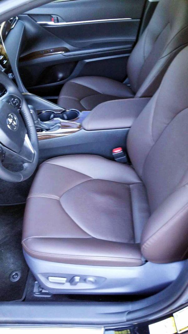 Toyota Camry V70 черная на свадьбу киев