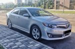Toyota Camry V50 серебристая аренда Киев код 148