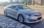 Toyota Camry V50 серебристая аренда Киев