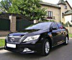 Toyota Camry V50 New 2013 года аренда авто Киев цена