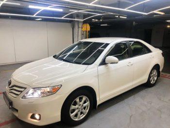 Toyota Camry белая V40 аренда на свадьбу в киеве