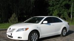 Toyota Camry белая V40 прокат авто