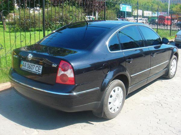 Volksvagen B5 black