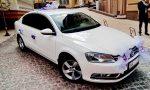 Volkswagen Passat B7 белый прокат авто Киев цена