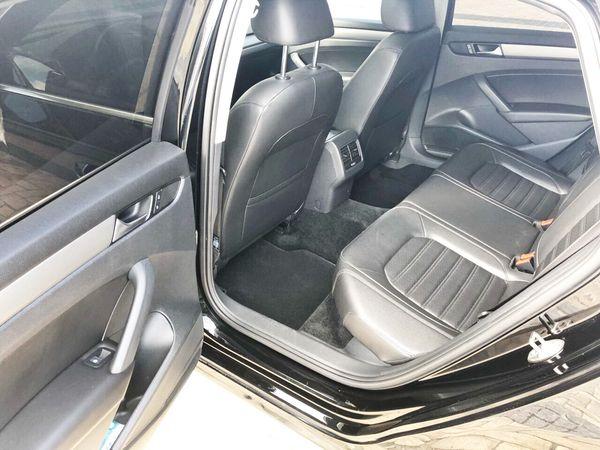 Volkswagen Passat B8 черный прокат аренда