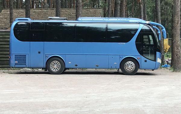 Yutong арендовать автобус киев