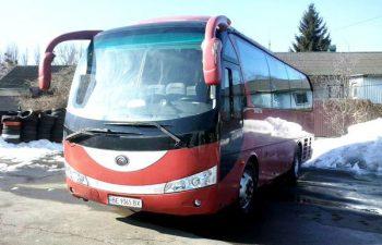 Man Yutong автобус на прокат 30 мест киев