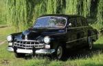 Ретро автомобиль ZIM GAZ-12 черный аренда код 209