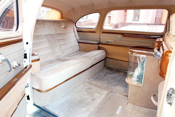 ZIN GAZ 12 новый ретро авто прокат аренда на свадьбу