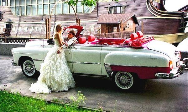 ZIM GAZ-12 cabrio на свадьбу киев