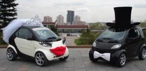 Украшение свадебных машин Киев