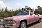 Кабриолет розовый Cadillac Fleetwood cabrio аренда код 194