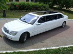 Кабриолет лимузин Mercedes 220 S 600 cabrio аренда код 056