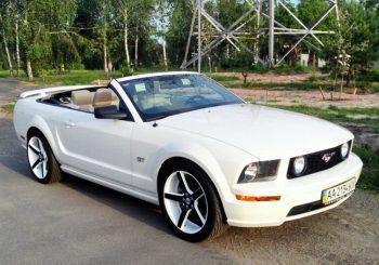 Ford Mustang кабриолет прокат аренда