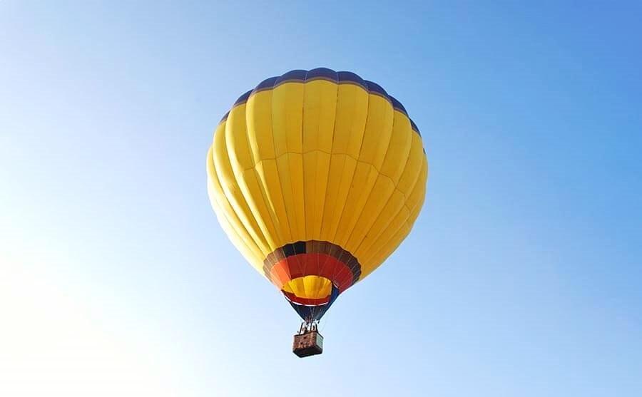 Полет на воздушном шаре Смайл заказать воздушный шар