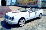 Аренда Mercedes W208 clk кабриолет прокат Киев код 113
