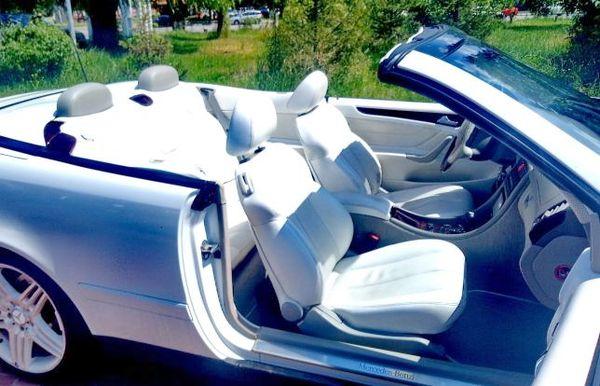 Mercedes W208 clk кабриолет на прокат в киеве