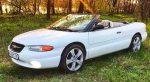 Кабриолет Chrysler Sebring белый аренда код 221