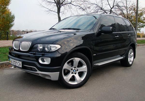 BMW X5 черный внедорожник джип