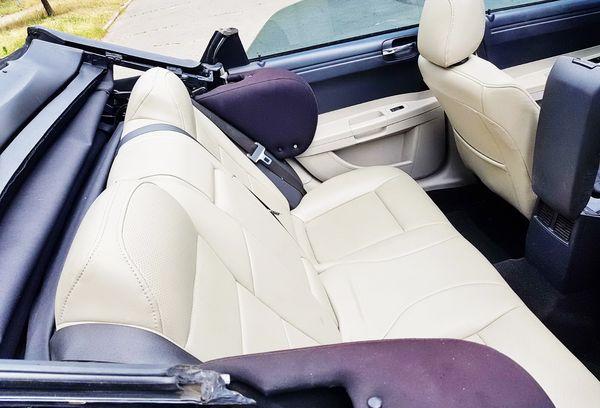 hrysler 300C белый кабриолет на прокат в аренду