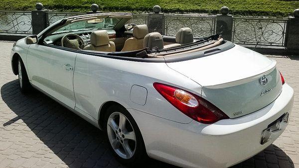 Toyota Solara кабриолеты на прокат