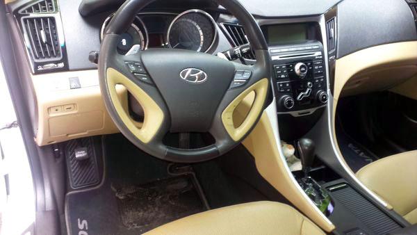 Hyundai Sonata New белая на свадьбу Киев