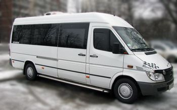 Mercedes Sprinter white 18mest