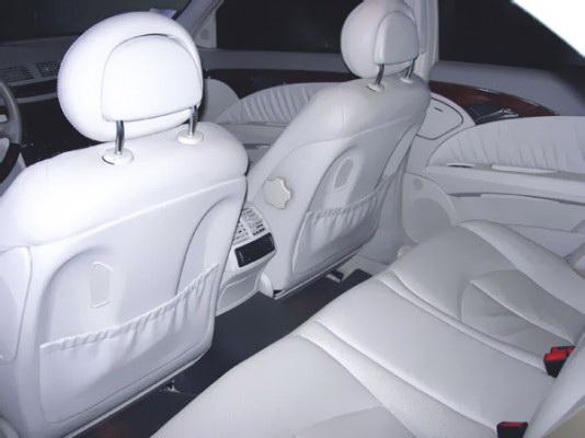Mercedes W211 black