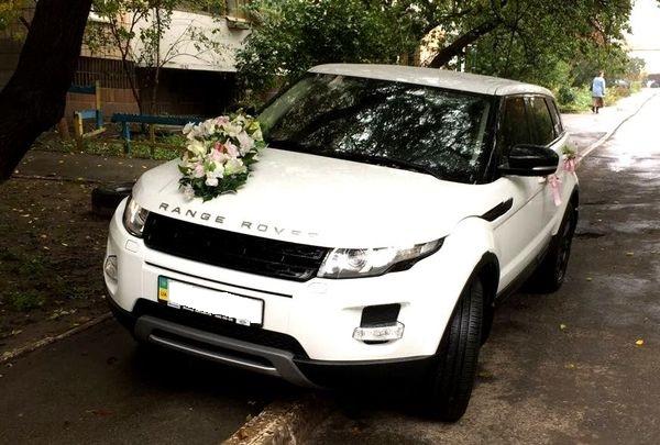 Range Rover Evoque на свадьбу киев