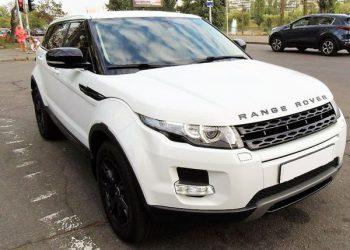 Range Rover Evoque white 2013 аренда на свадьбу