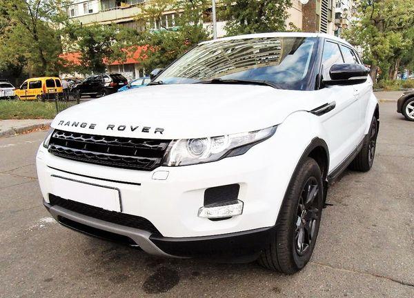 Range Rover Evoque white 2013