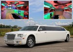 Лимузин Chrysler 300C Limo white 2012 аренда код 014