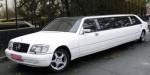 Лимузин Mercedes W140 S500 white аренда код 055
