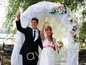 Свадебная арка на прокат летняя