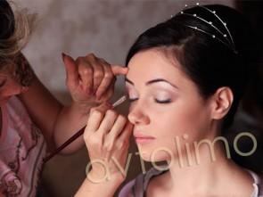 Свадебная прическа свадебный макияж