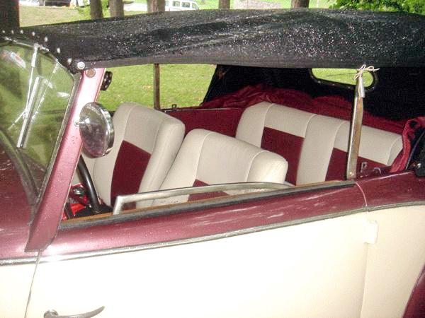 Fiat Topolino ретро автомобиль