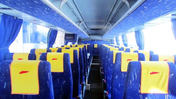 Neoplan 116 белый автобус 50 мест